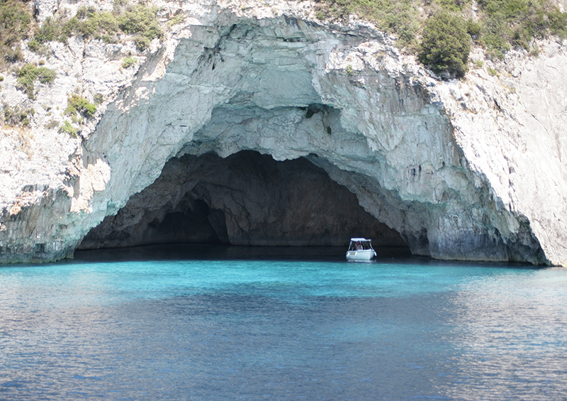Paxos Blue Cave