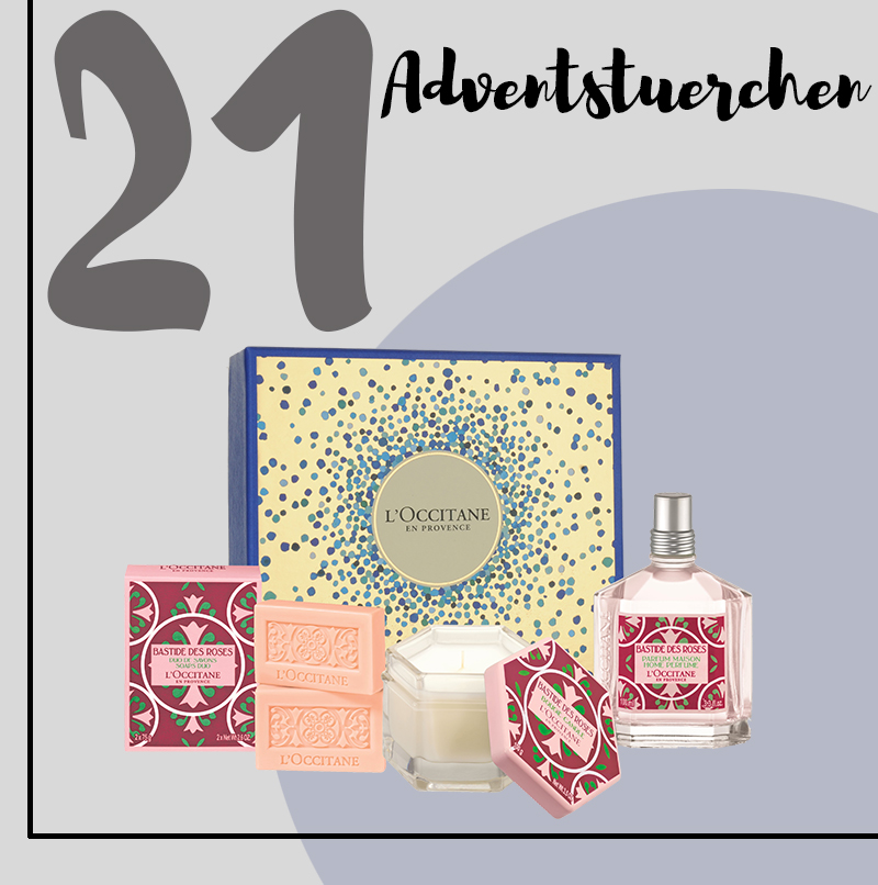 ADVENTSTÜRCHEN 21: L'Occitane Weihnachtsbox Rose Home Coffret