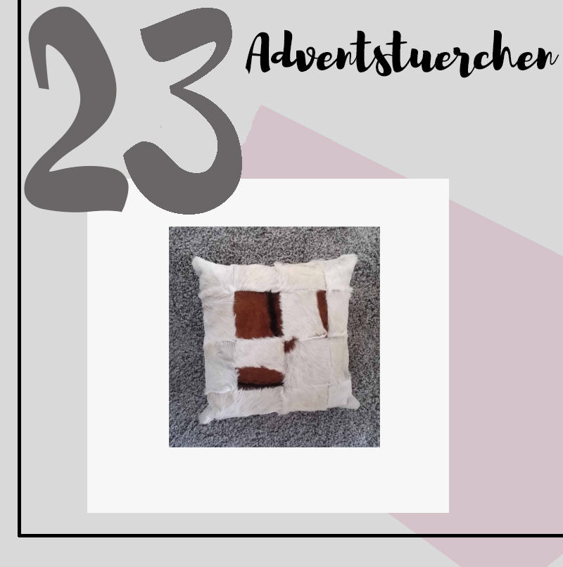 ADVENTSTÜRCHEN 23: Amaris Elements Kissenbezug